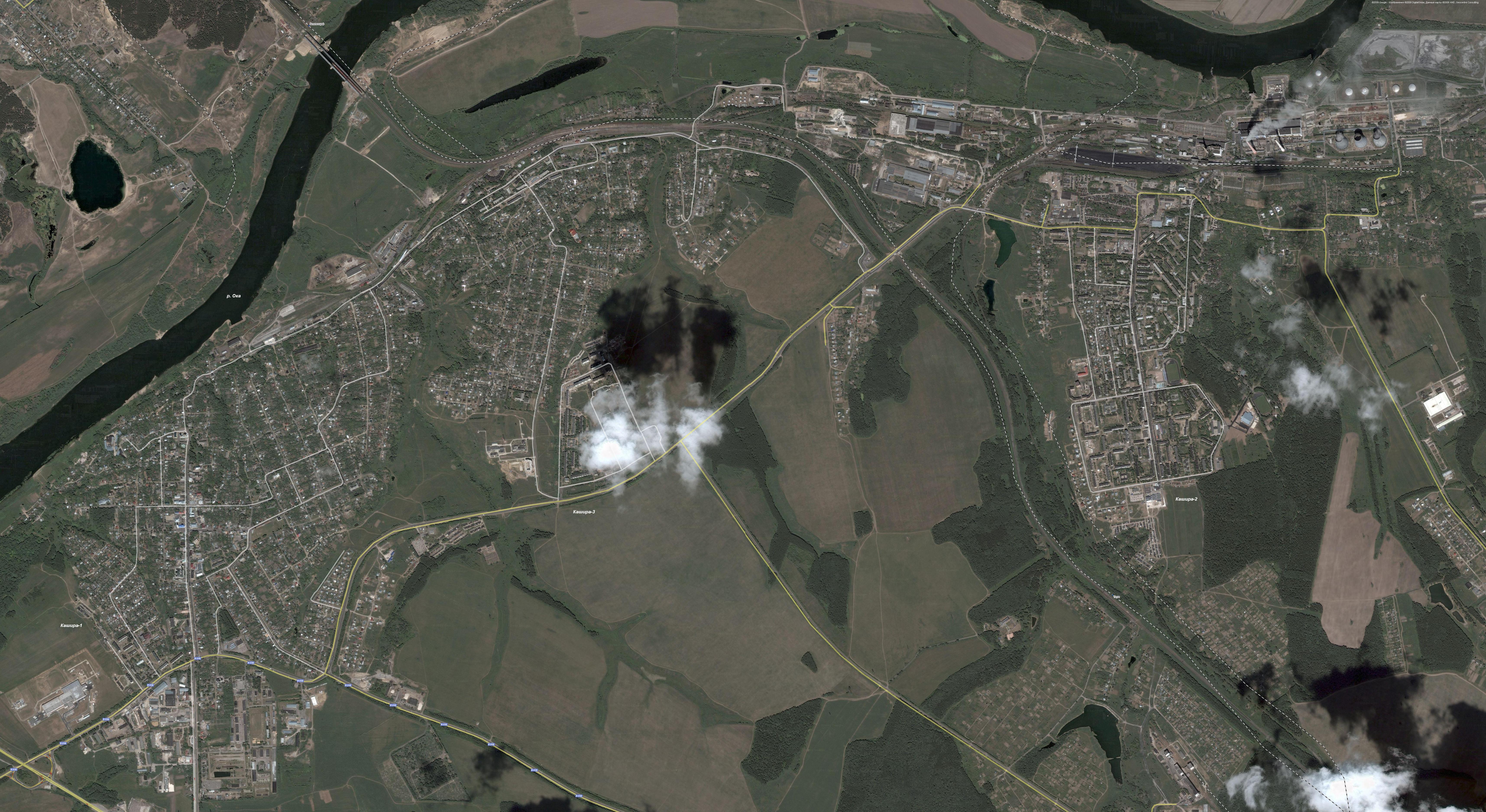 Последние спутниковые карты